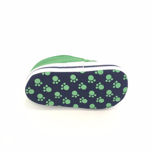 Sneakers Soft Sole Volpe Verde |  | RocketBaby.it
