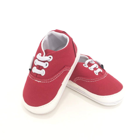 Sneakers  Rosse Velluto | MIAMI KIDS | RocketBaby.it