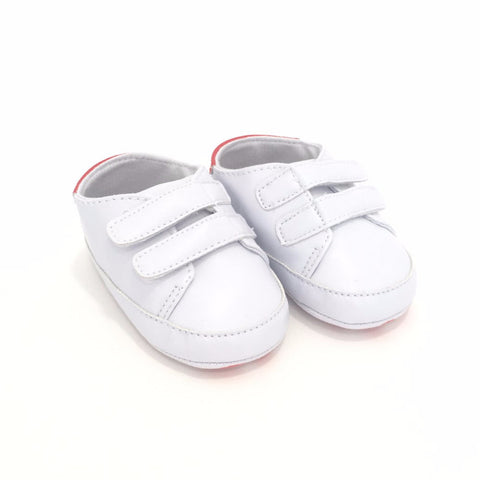 Sneakers Soft Sole con Chiusure Velcro Bianche | MIAMI KIDS | RocketBaby.it