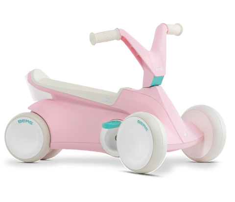 Scooter a Pedali e Primipassi 2 in 1 Go2 Pink | BERG | RocketBaby.it