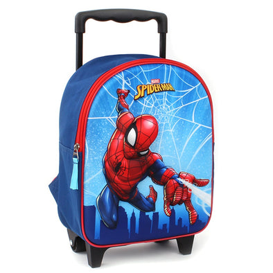 Zaino Trolley Spider Man Web Head