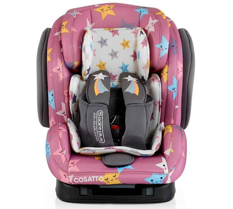 Seggiolino Auto Hug Gruppo 1/2/3 Isofix Anti-Escape Happy Stars | COSATTO | RocketBaby.it