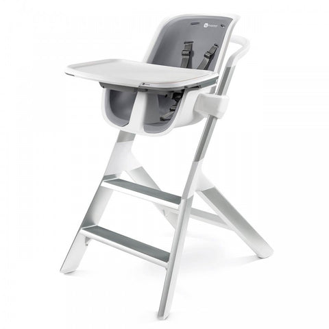 Seggiolone High Chair - White e Gray | 4MOMS | RocketBaby.it