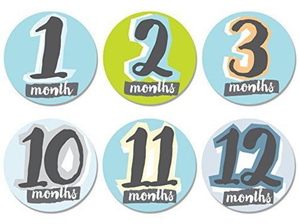 Set Stickers per Maglietta Hello Baby 1-12 Mesi |  | RocketBaby.it