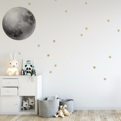 Set Stickers da Muro Luna Piena |  | RocketBaby.it