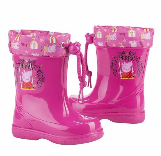 competitive price 1f417 5d27b IGOR SHOES-Peppa Pig fuchsia rubber boots for children – Roc