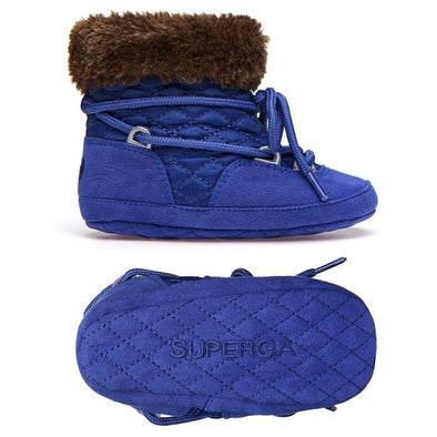 Stivale Superga Imbottito Soft Sole Blue Royale