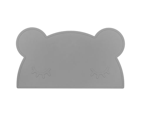 Tovaglietta in Silicone Orso Grigio | WE MIGHT BE TINY | RocketBaby.it