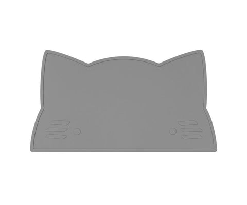 Tovaglietta in Silicone Gatto Grigio | WE MIGHT BE TINY | RocketBaby.it