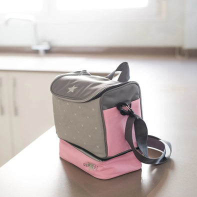 Borsa Isotermica Stars Pink | OLMITOS | RocketBaby.it