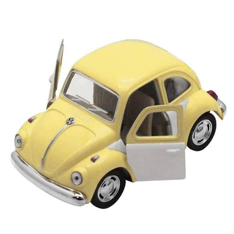 Automobilina VW Beetle Giallo e Grigio | VW RETRO | RocketBaby.it