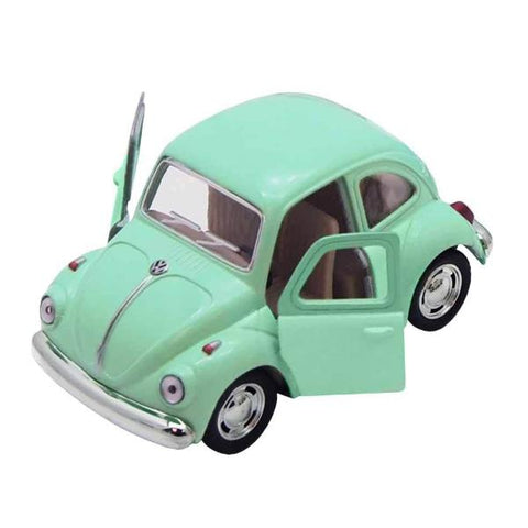 Automobilina VW Beetle Classical Verde | VW RETRO | RocketBaby.it