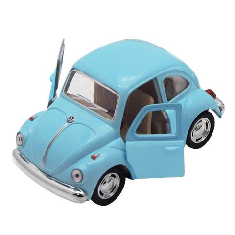 Automobilina VW Beetle Classical Azzurro | VW RETRO | RocketBaby.it
