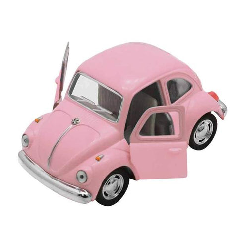 Automobilina VW Beetle Classical Rosa | VW RETRO | RocketBaby.it