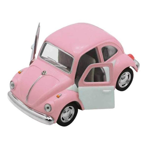 Automobilina VW Beetle Rosa e Grigio | VW RETRO | RocketBaby.it