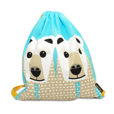 Sacca Orso bianco - RocketBaby