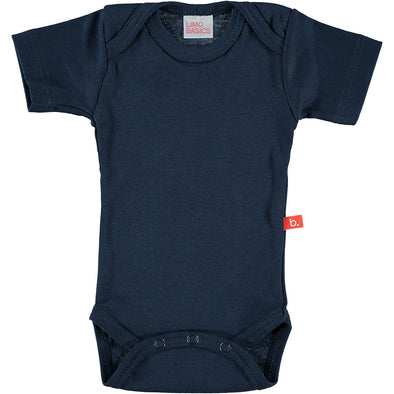 Body Manica Corta Scollo Tondo (Blu Navy) |  | RocketBaby.it
