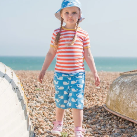 Pantaloncini con Balene | TOBY TIGER | RocketBaby.it
