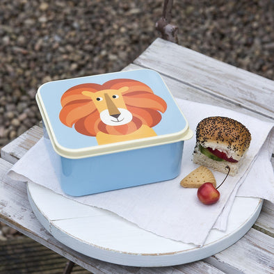 Lunch Box Charlie The Lion | REX LONDON | RocketBaby.it