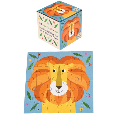 Mini Puzzle Charlie The Lion | REX LONDON | RocketBaby.it