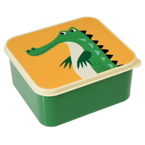 Lunch Box Harry The Crocodile | REX LONDON | RocketBaby.it