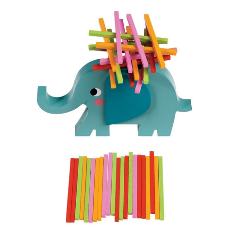 Gioco Stacking Sticks Elvis The Elephant | REX LONDON | RocketBaby.it