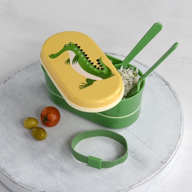 Bento Box Harry The Crocodile | REX LONDON | RocketBaby.it