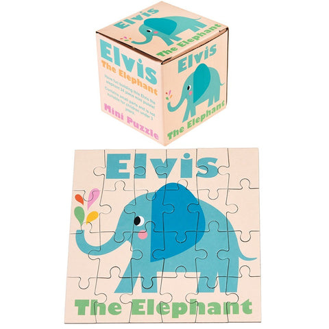 Mini Puzzle Elvis The Elephant | REX LONDON | RocketBaby.it
