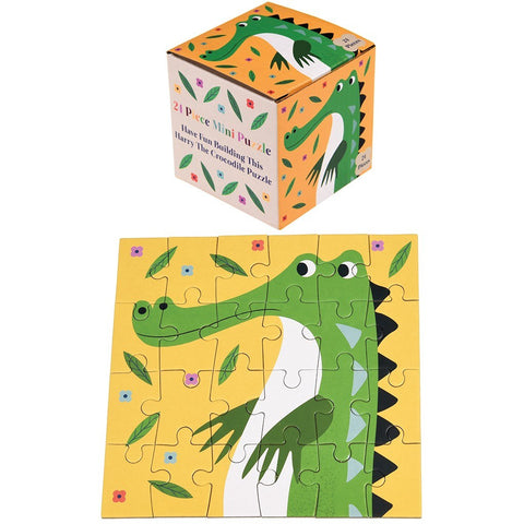 Mini Puzzle Harry The Crocodile | REX LONDON | RocketBaby.it