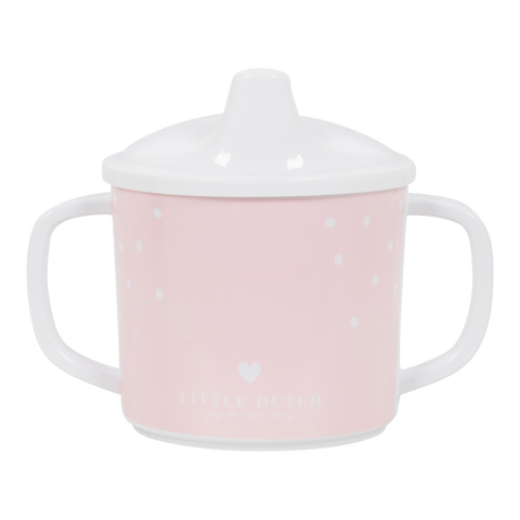 Sippy Cup in Melamina Hearts | LITTLE DUTCH | RocketBaby.it