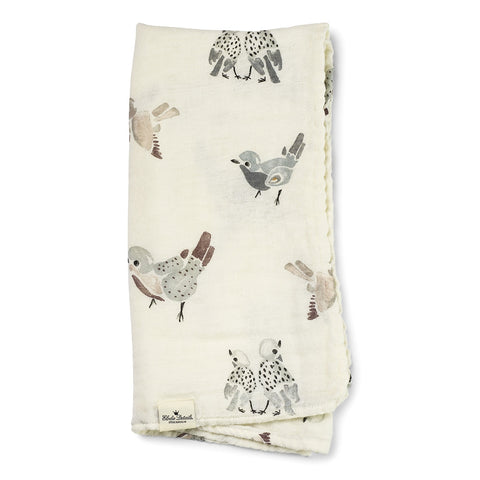 Copertina SWADDLE Bamboo Feathered Friends | ELODIE DETAILS | RocketBaby.it