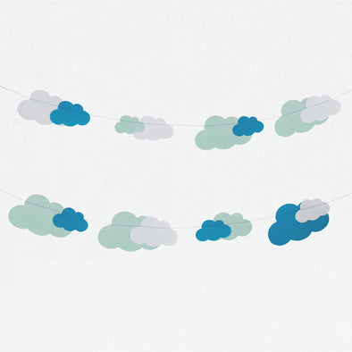 Striscione In Carta Clouds | MY LITTLE DAY | RocketBaby.it