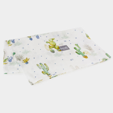 Swaddle in Bamboo Square 73 x 73 cm Cactus