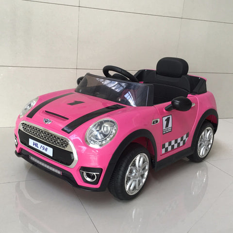 Mini Coupè Cabrio Rosa - BABYCAR - RocketBaby.it - RocketBaby