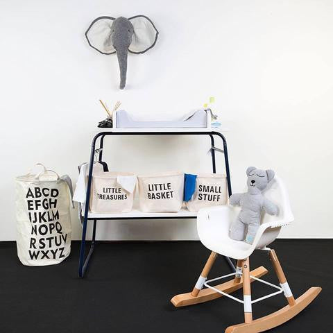 Mobile Fasciatoio in Metallo Bianco e Blue Navy - CHILDHOME - RocketBaby.it - RocketBaby