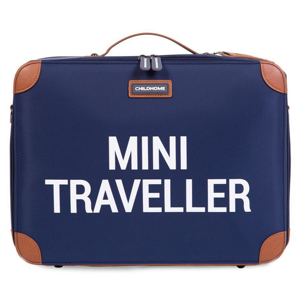 Valigia Mini Traveller Navy White