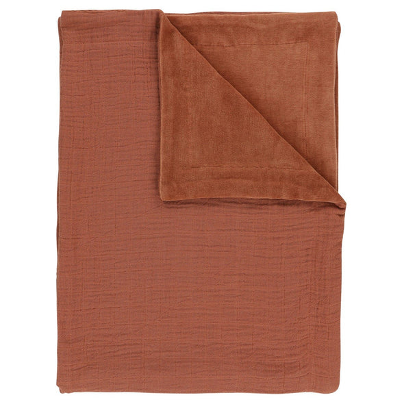 Coperta in Pile Bliss Rust