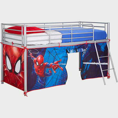 Tenda per Letto a Soppalco Spider Man