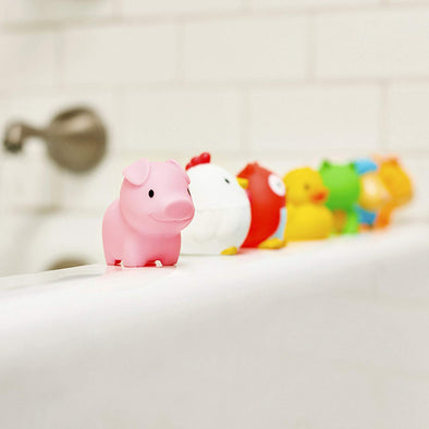 Set 8 Giochi da Bagno Farmyard Friends | MUNCHKIN | RocketBaby.it