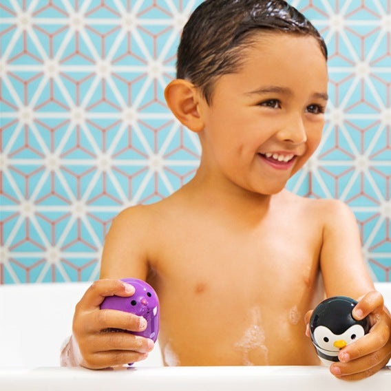 Set 2 Giochi da Bagno Squeeze Mix and Match Squirts | MUNCHKIN | RocketBaby.it