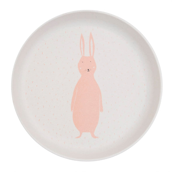 Piatto in Bamboo Mrs. Rabbit