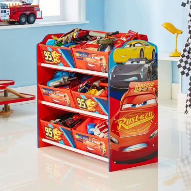 Mobile con 6 Contenitori Disney Cars