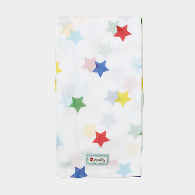 Swaddle in Mussola Rainbow Star
