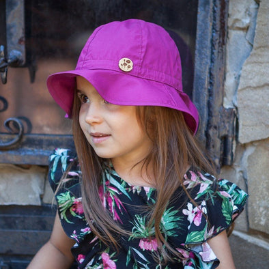 Cappellino da Sole Safari Solid Rose