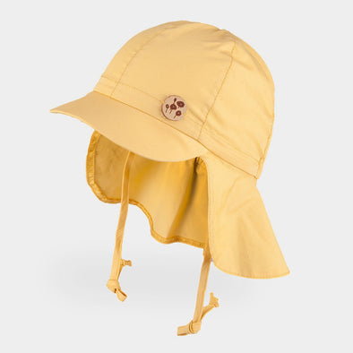 Cappellino da Sole con Visera Solid Yellow