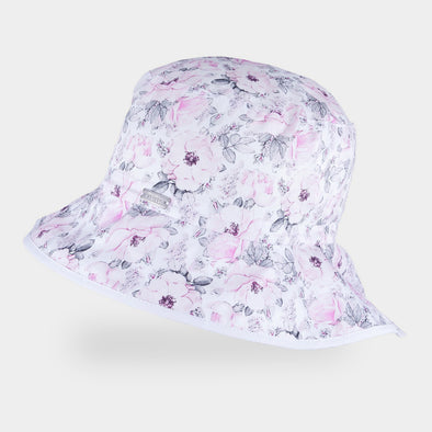 Cappellino da Sole Forever Flower Light Grey