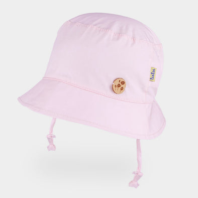 Cappellino da Sole Rotondo Solid Light Pink