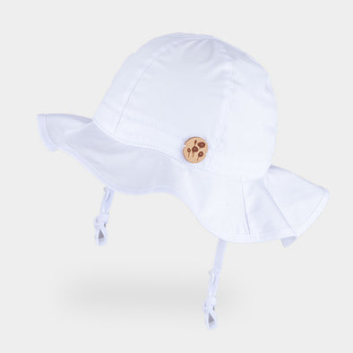 Cappellino da Sole Safari Solid White