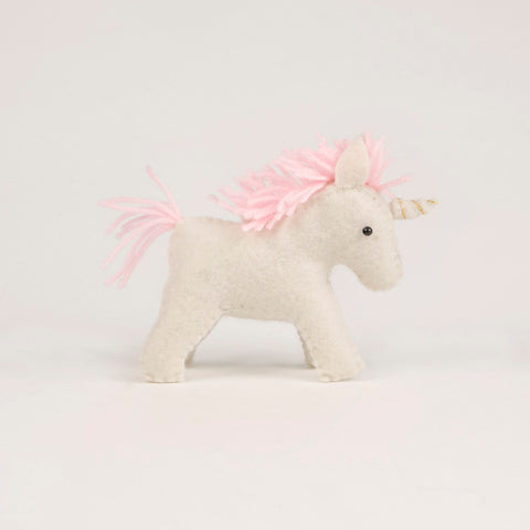 Pupazzo in Feltro Magical Unicorn | SASS & BELLE | RocketBaby.it
