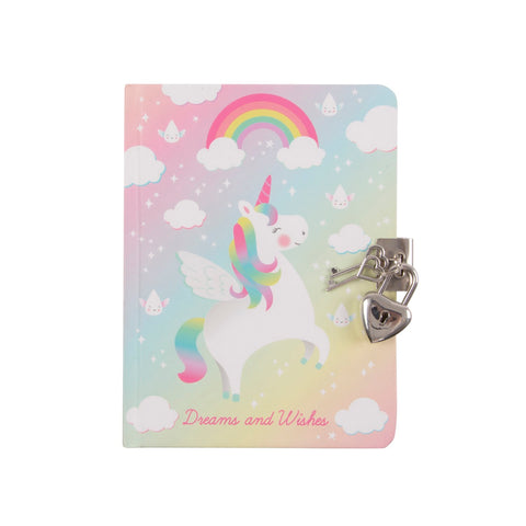 Diario Segreto Rainbow Unicorn | SASS & BELLE | RocketBaby.it